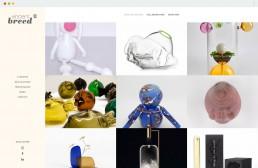Page Portfolio du site internet