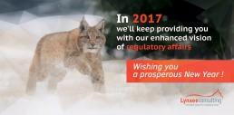 carte de voeux 2017 Lynxee