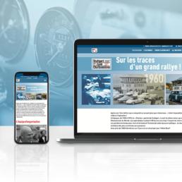 SLC Rallye Création site internet One Page