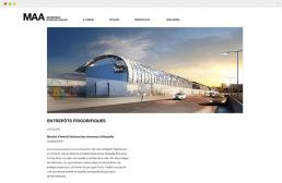 page d'actualité du site internet Metropolis Architectes Associés