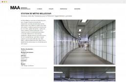page du projet bellecour du site internet Metropolis Architectes Associés