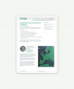Page service du site Agrolis