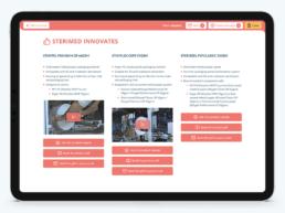 Application web présentation de produits