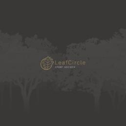 LeafCircle création indentité print web